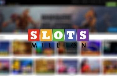 SlotsMillion casino welcome